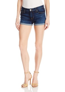 Hudson Jeans Women's Asha Midrise Cuffed 5-Pocket Denim Short
