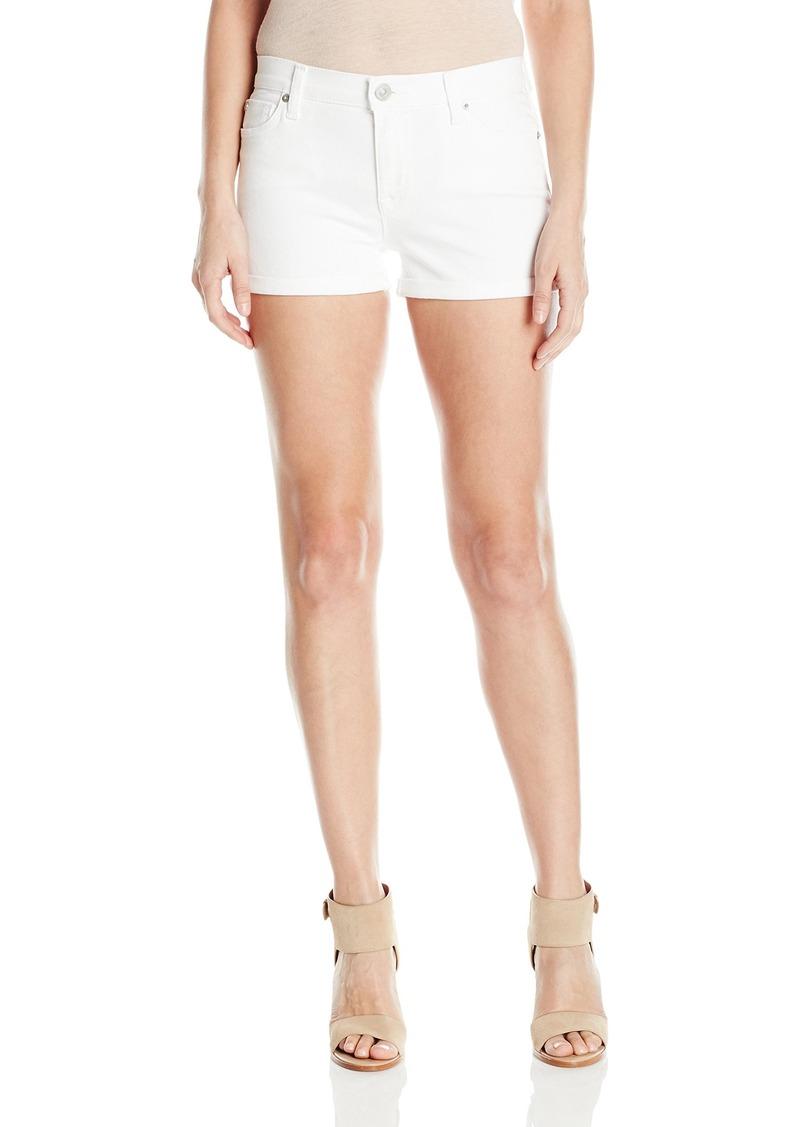 Hudson Jeans Women's Asha Midrse Cuffed 5-Pocket Short