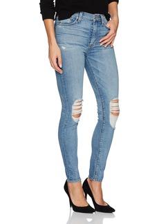 Hudson Jeans Women's Barbara High Rise Super Skinny Jean confection