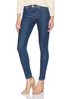 Hudson Jeans Women's Barbara High Rise Super Skinny Stonewash Jeans