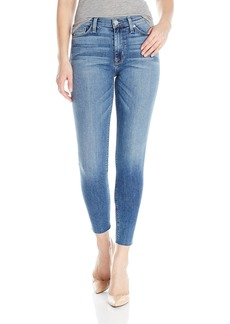 Hudson Jeans Women's Barbara High Waist Ankle Raw Hem Super Skinny 5-Pocket Jean