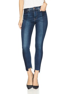 Hudson Jeans Women's Barbara HIGH Waist Super Skinny CROP5 Pocket Jean