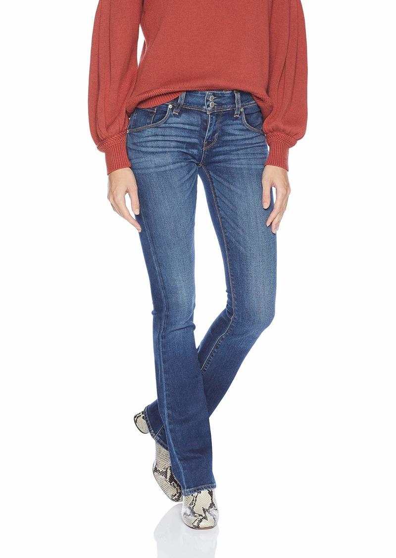 Hudson Jeans Women's Beth MID-Rise Baby Bootcut Flap Pocket Jean FENIMORE
