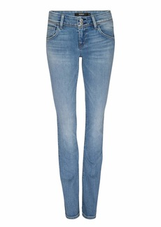 HUDSON Jeans Women's Beth Mid Rise Baby Bootcut Jean