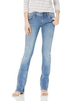 Hudson Jeans Women's Beth Midrise Baby Boot Flap Pocket Jean PREPARTY