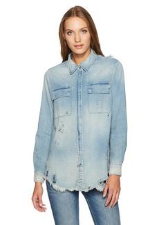 Hudson Jeans Women's Bijou Button Up Shirt