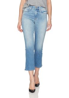 Hudson Jeans Women's Brixx High Rise Crop Flare 5 Pocket Jean in Vintage Blue