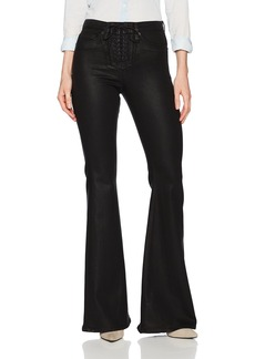 Hudson Jeans Women's Bullocks High Rise Lace up Flare