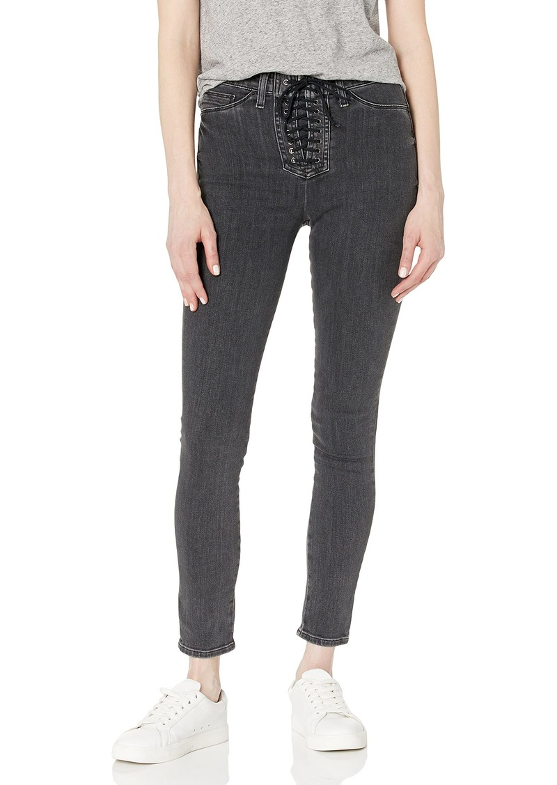 HUDSON Jeans Women's Bullocks High Rise Lace Up Super Skinny Jeans