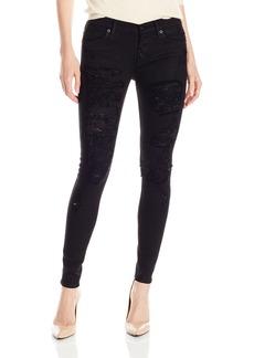Hudson Jeans Women's Ciara Exposed Button Super Skinny 5-Pocket Jean