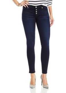 Hudson Jeans Women's Ciara Exposed Button Super Skinny 5-Pocket Jean