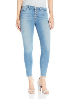 Hudson Jeans Women's Ciara High Rise Ankle Super Skinny Exposed Buttonfly Jean