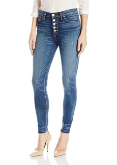 Hudson Jeans Women's Ciara High Rise Exposed Button Super Skinny Jeans