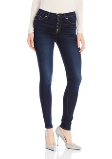 Hudson Jeans Women's Ciara Super Skinny Exposed Button Fly 5-Pocket Jeans  29