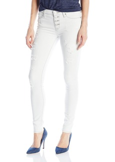 Hudson Jeans Women's Ciara Super Skinny Exposed Buttons Jeans