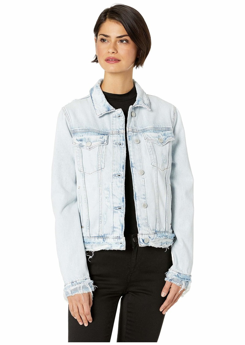 Hudson Jeans Women's Classic Trucker Jacket  MD