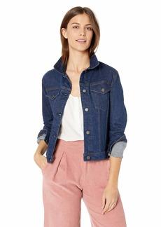 Hudson Jeans Women's Classic Trucker Jean Jacket  SM
