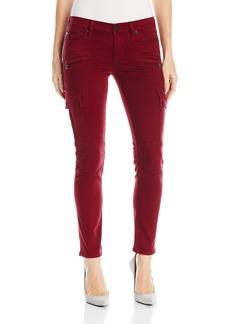 Hudson Jeans Women's Colby Ankle Moto Skinny Cargo 5 Pocket Jean