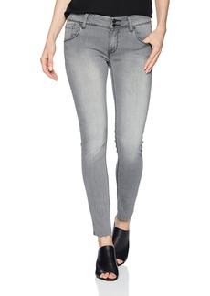 HUDSON Jeans Women's Collin Mid-Rise Skinny Fit Back Flap Pocket Jean