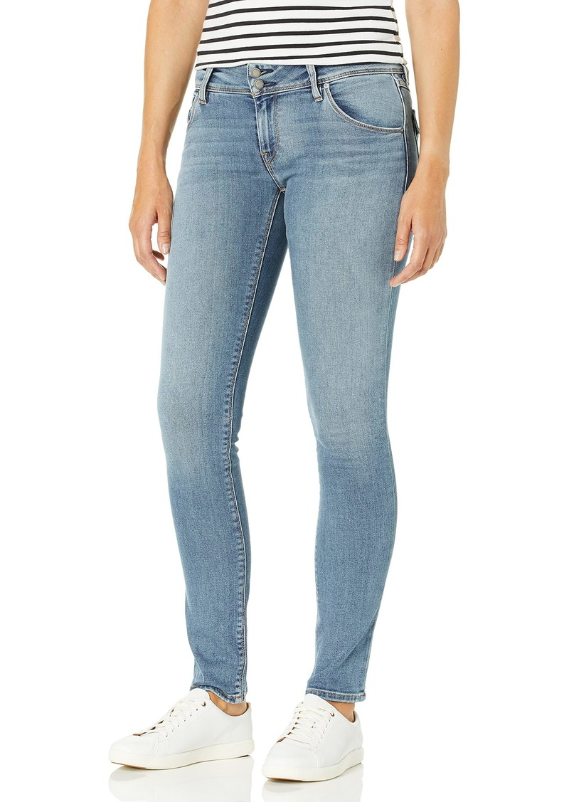 HUDSON Jeans Women's Collin Mid Rise Skinny Jean with Back Flap Pockets
