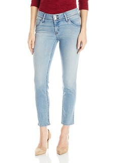 Hudson Jeans Women's Collin Midrise Crop Skinny Flap Pocket Jean