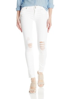 Hudson Jeans Women's Collin Midrise Skinny Denim Flap Pocket Jean DEMOLISH