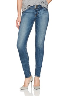 Hudson Jeans Women's Collin Midrise Skinny Flap Jean Lonestar