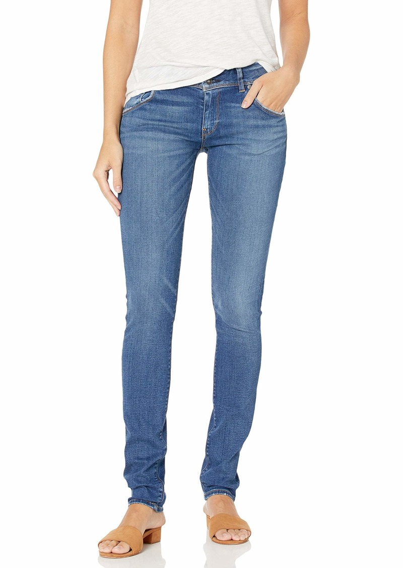 HUDSON Jeans Women's Collin Super Model Skinny Jean Long Length Inseam with Back Flap Pockets