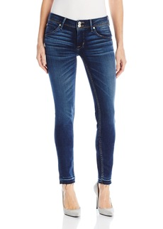 Hudson Jeans Women's Collin Midrise Super Skinny With Relased Hem Flap Pocket Jean