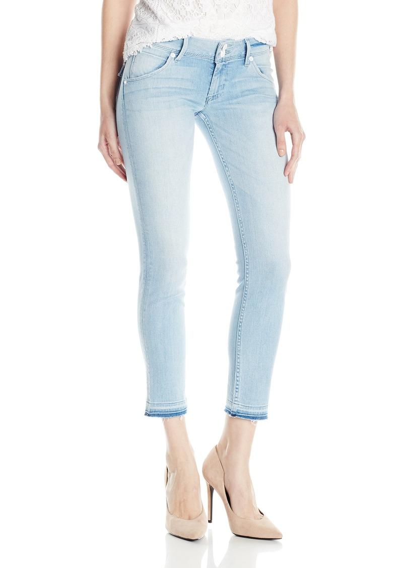 Hudson Jeans Women's Collin Skinny Crop Released Hem Flap Pocket Jean