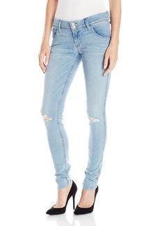 HUDSON Jeans Women's Collin Skinny Elysian Denim Flap Pocket Jeans