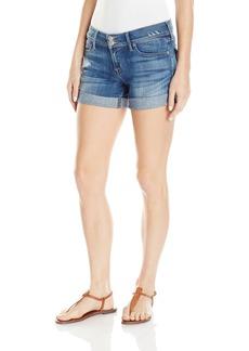 Hudson Jeans Women's Croxley Mid Thigh Jean Short