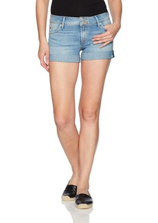 Hudson Jeans Women's Croxley Mid Thigh Rolled Jean Short