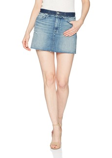 Hudson Jeans Women's Custom Vivid Jean Mini Skirt