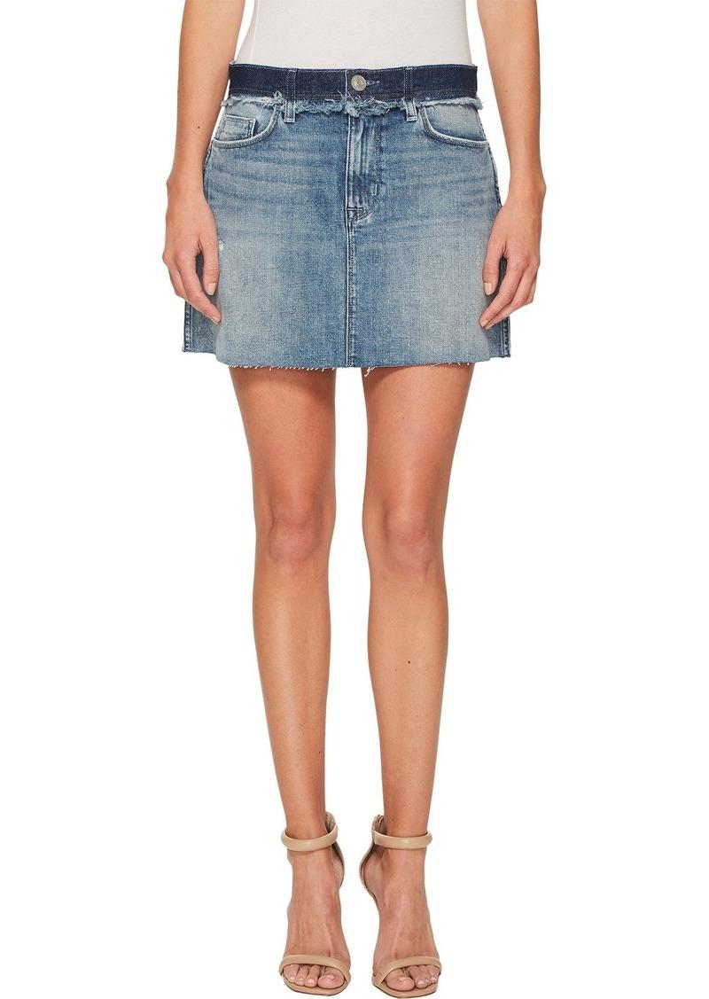 Hudson Jeans Women's Custom Vivid Jean Mini Skirt