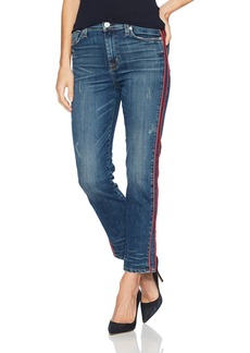 Hudson Jeans Women's Custom Zoeey High Rise Ankle Straight 5 Pocket Jeans