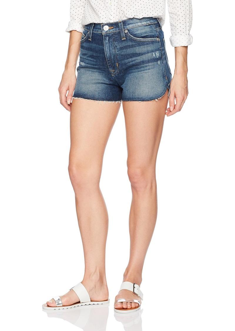 Hudson Jeans Women's Dahlia High Rise Dolphin Denim Short