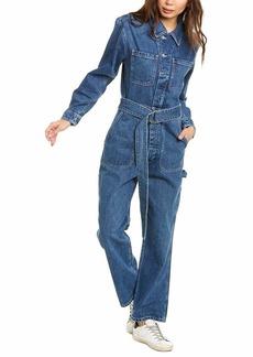 HUDSON Jeans Women's Denim Utility Jumpsuit  MD