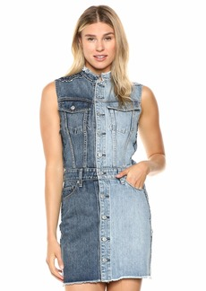 Hudson Jeans Women's DIY-Pieced Dress  SM