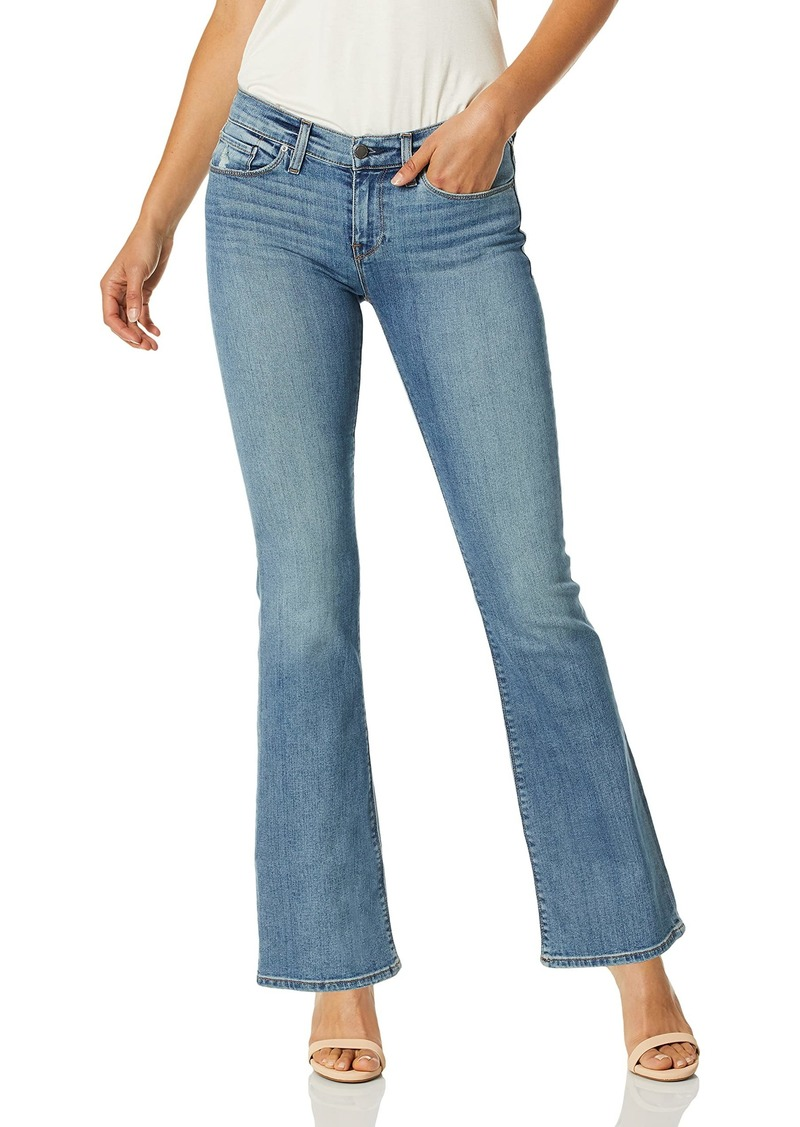 HUDSON Jeans Women's Drew Mid Rise Petite Bootcut Jean