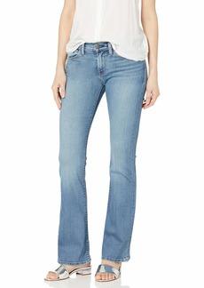 Hudson Jeans Women's Drew Midrise Petite 5 Pocket Bootcut Jean