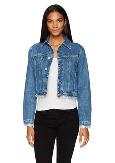 Hudson Jeans Women's Garrison Cropped Jacket