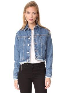 Hudson Jeans HUDSON Women's Garrison Cropped Jacket