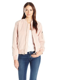 Hudson Jeans Women's Gene Puffy Bomber Jacket