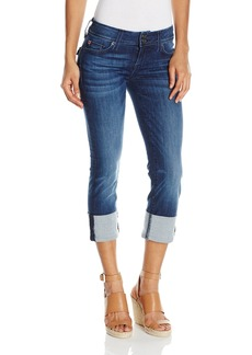 Hudson Jeans Women's Ginny Crop Straight With Cuff Flap Pocket Jean