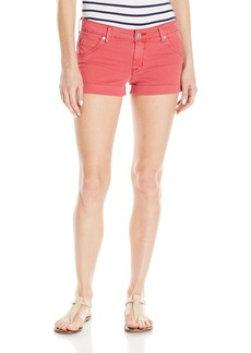 Hudson Jeans Women's Hampton Cuffed Flap Pocket Short