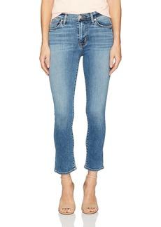 Hudson Jeans Women's Harper High Rise Crop Baby Flare Jeans