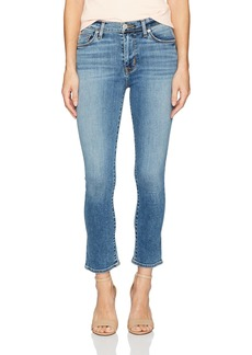HUDSON Jeans Women's Harper High Rise Crop Baby Flare Jeans