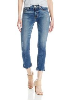 Hudson Jeans Women's Harper High Rise Crop Baby Kick Flare