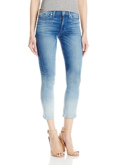 Hudson Jeans Women's Harper High Rise Crop Baby Kick Flare 5-Pocket Jean
